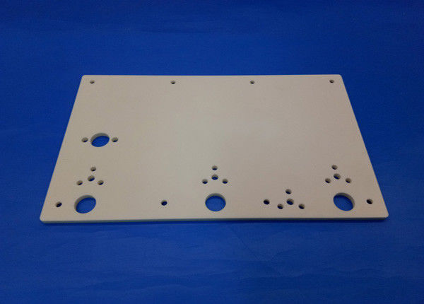 White color 99% Alumina Ceramic Plate / al2o3 Yarn Guide Plates