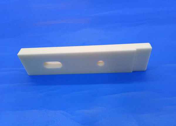 High Precision Customized Dimension White Ivory 95%-99.99% Alumina Ceramic Plate Al2O3