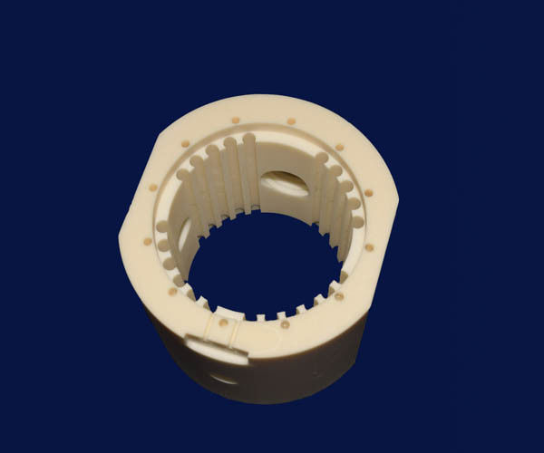 Wear - Resistant Machining Ceramic Parts , Alumina Ceramic Structure Refractory High Corrosion Resistance
