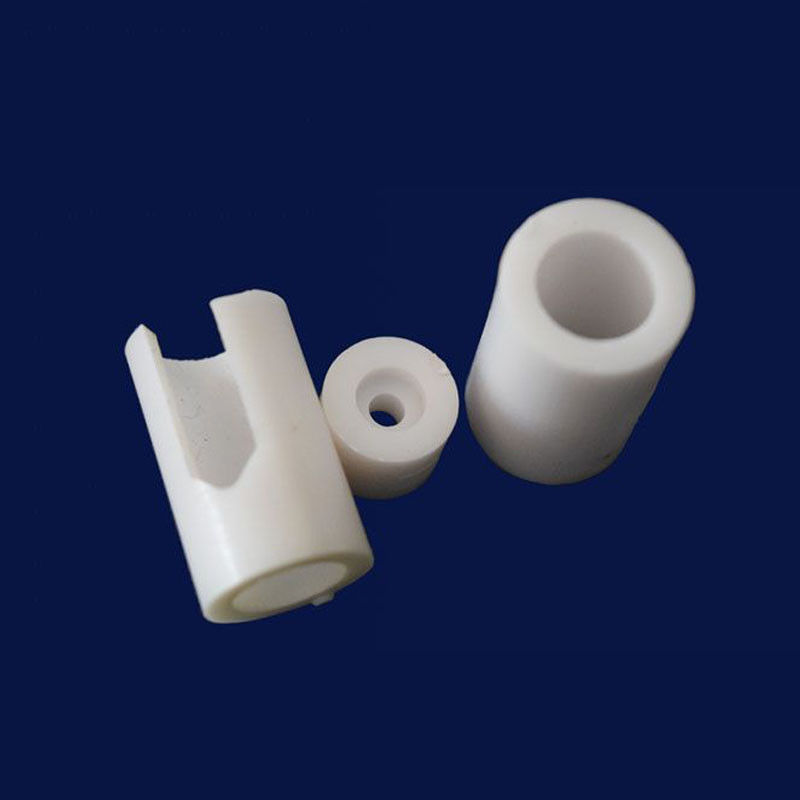 Refractory Industrial Electrical Insulation Alumina Ceramic Tube +- 0.001mm Precision