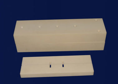 China High Precision 97% Alumina Ceramic Terminal Block / Insulated Terminal Block factory