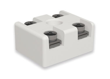 China Electrical Connecting Machinable Ceramic Block , Porcelain Terminal Block Machining factory