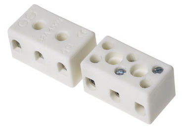 China Insulating Electrical Alumina Ceramic Terminal Block High Temperature Resistance factory