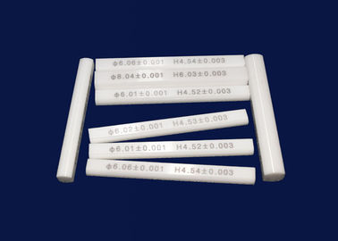 China Precision Individual Metric Thread Ceramic Gauge Block Accuracy Grades factory