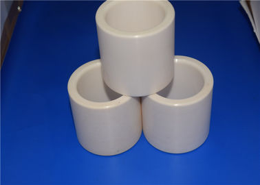 China High Fracture Toughness Zirconia Ceramic Tube Insulation Wear Resistant factory