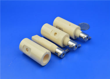 Ceramic Plunger Pump , Ceramic Valveless Metering Pumps and Dispensors Spool Valve