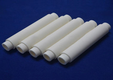 China High Hardness Wear Alumina Zirconia Ceramic Tube Corrosion Resistance For Industry factory