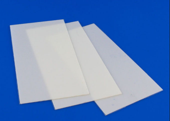 High Pure 95% Insulating  Indusrial Alumina Ceramic Plate For Vacuum Devices