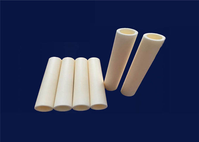 High Purity Alumina Ceramic Thermocouple Protection Tube With One End Closed
