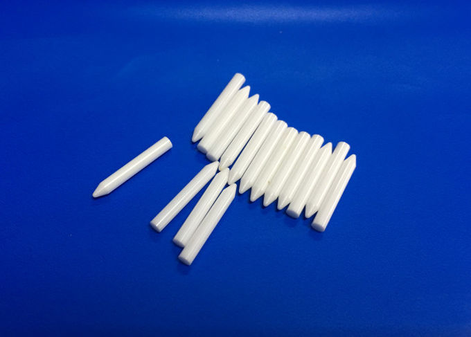 White High Hardness Zirconia Ceramic Rod With Wear Resistant Material