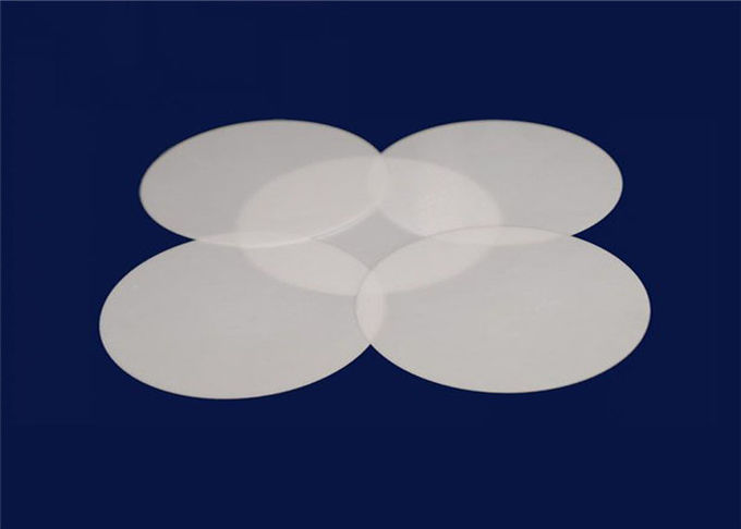 Customized Thickness Advanced 99.7% Alumina Ceramic Round Sheet Wear Resistant