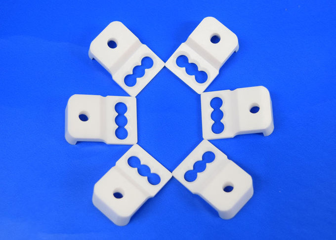 White Toughened Zirconia Machinable Ceramic Block High Strength 95% zro2 Sudstrate