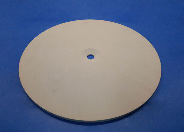 95%-99.99% alumina ceramic high temperature resistance customized large diameter plate