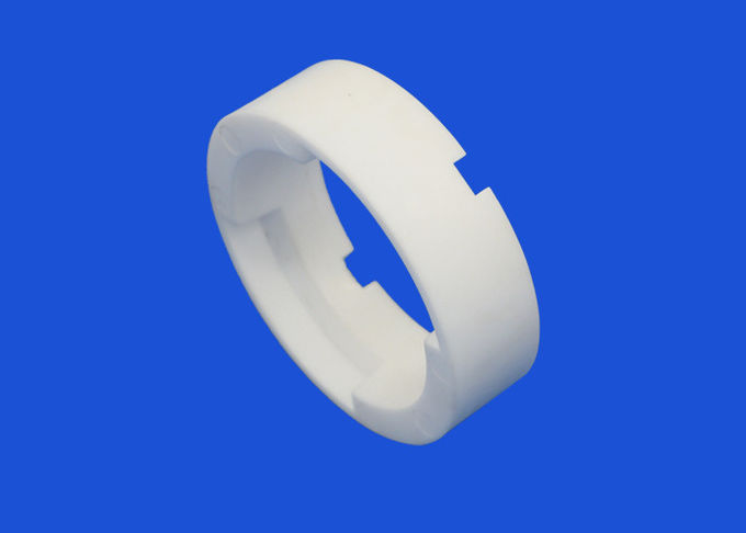 High quality 95% alumina ceramic seal ring for mechanical industry white color